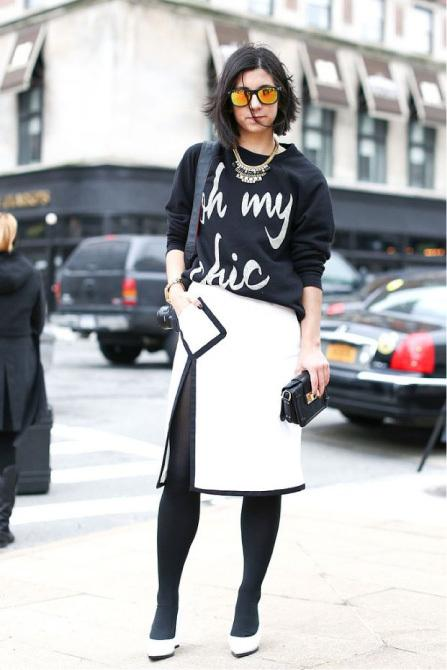 Image result for black and white street style